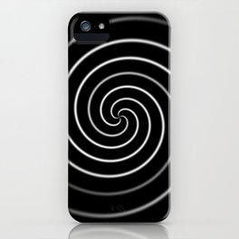Licorice Swirl iPhone Case