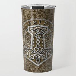 Mjolnir  - the hammer of Thor Travel Mug