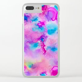 Ink 139 Clear iPhone Case