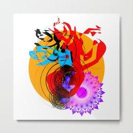Art 1 Hamparte Metal Print