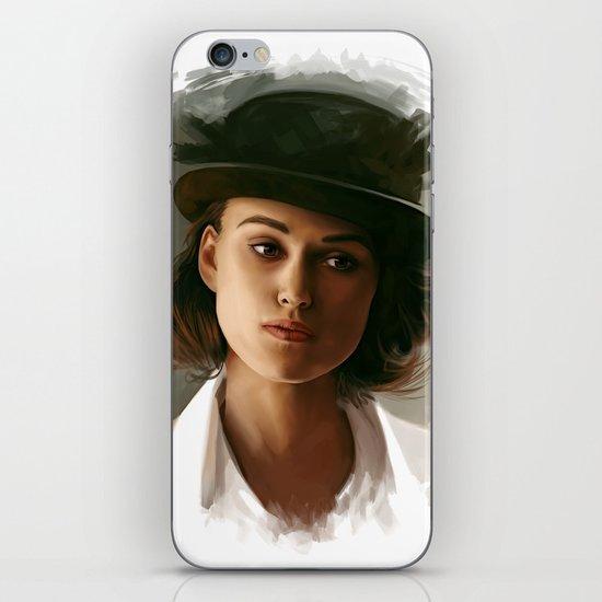 Keira Knightley in hat iPhone & iPod Skin