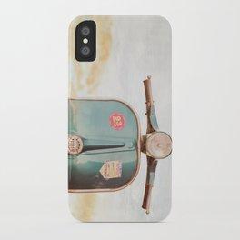 The Blue Vespa iPhone Case