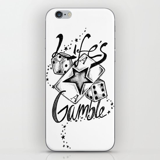 Life's A Gamble iPhone Skin