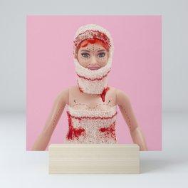 Self-confidence crisis Halloween costume Mini Art Print