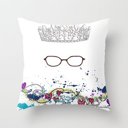 The Princess Diaries - the Princess wears Glasses?! Shut Up! Throw Pillow