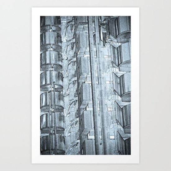 Lloyd's of London Building Art Art Print