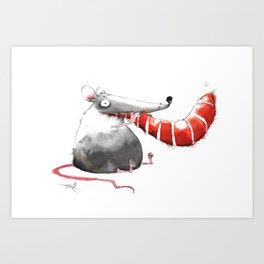 Happy End Art Print