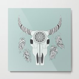 Boho motifs Metal Print