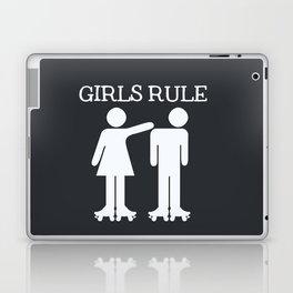 Girls Ruler Roller Derby Laptop & iPad Skin