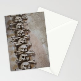 Skull Tower Stationery Cards