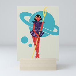 Sailor Saturn Mini Art Print