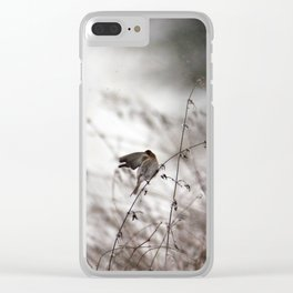 Struggling with the tempest Clear iPhone Case