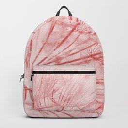 Dandelion In Pink Backpack