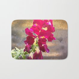 Snap dragon Bath Mat