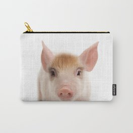 Baby Pig Print by Zouzounio Art Carry-All Pouch