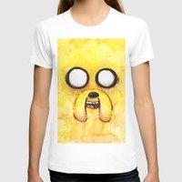 jake T-shirts featuring Jake Face by Olechka