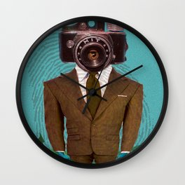 Dept. Of Disappearance Wall Clock