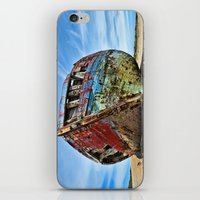 wreck it ralph iPhone & iPod Skins featuring Wreck by Dave Wilky