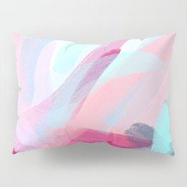 Pastel Abstract Brushstrokes Pillow Sham