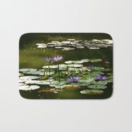 Waterlilies Bath Mat
