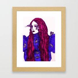 Edith Cushing (Haunted Beauty Series) Framed Art Print