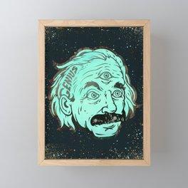Genius Framed Mini Art Print
