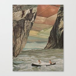The Great Unknown Canvas Print