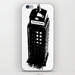 British Booth iPhone Skin
