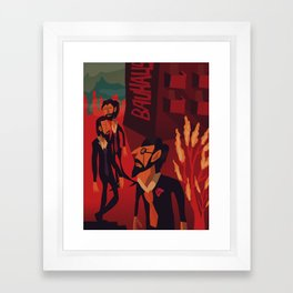 Walter, Wassily and Paul Framed Art Print