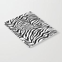 Zebra background Notebook