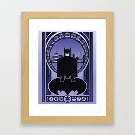 Bat Framed Art Print