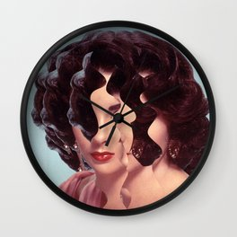 Another Portrait Disaster · Liz 1 Wall Clock