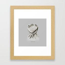 Monsanto Kermit Framed Art Print