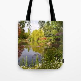 Springtime at Giverny Tote Bag