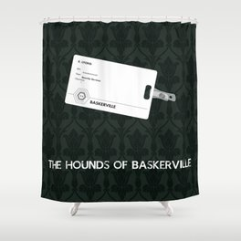 The Hounds of Baskerville Shower Curtain