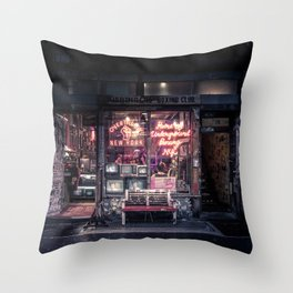 Underground Boxing Club NYC Throw Pillow