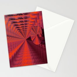 Circle Gets The Square Stationery Cards