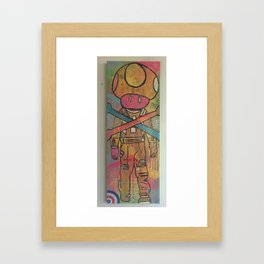 gameboy by barrie j davies 2015 Framed Art Print