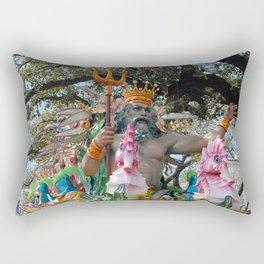 Neptune Rides Rectangular Pillow