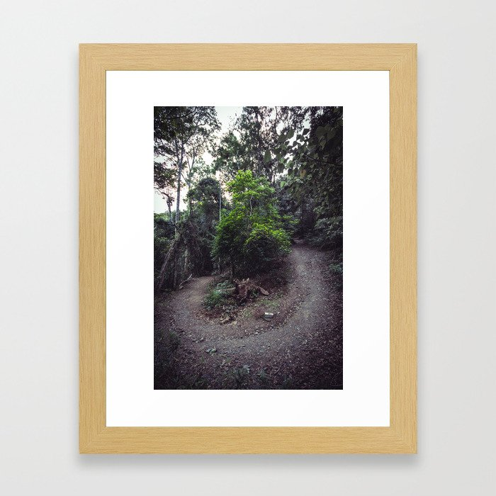 Around the Bend Framed Art Print