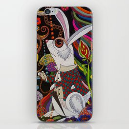 The White Rabbit iPhone Skin