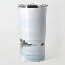 Cliffs + Sea (Two) Travel Mug