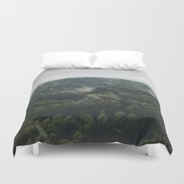 The mountain is breathing Duvet Cover