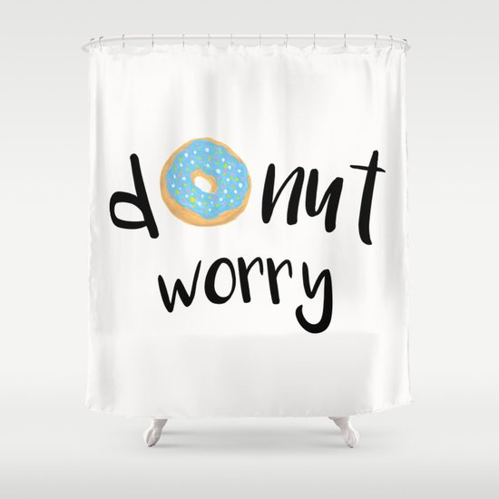 Donut Worry Blue by julieerindesigns