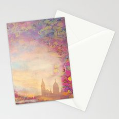 PARIS SACRE COEUR  Gold Stationery Cards