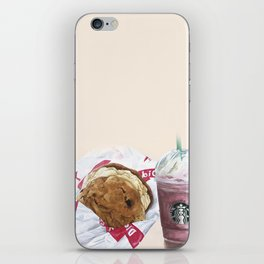 Starbucks & Diddy Riese iPhone Skin