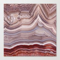 agate Canvas Prints featuring Agate Crystal by Santo Sagese