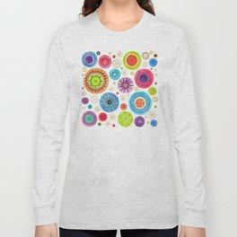 festive flowers Long Sleeve T-shirt