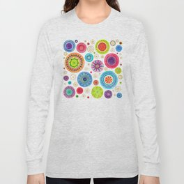 festive flowers Long Sleeve T-shirt
