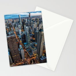 Chicago Downtown Stationery Cards
